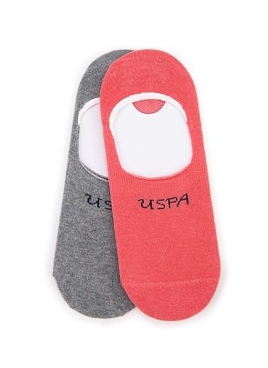 U.S. Polo Assn. Çorap Somon